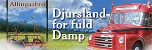 Djursland For Fuld Damp for enden af jernbane som kommer lige forbi Randers Fjord Feriecenter