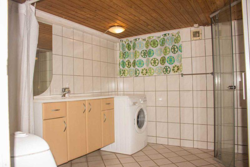 Badeværelset i kælderen