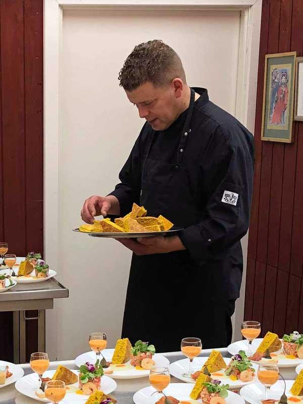 Kokken Chris på Randers Fjord Feriecenter